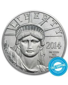 2014 1 oz Platinum American Eagle Coin