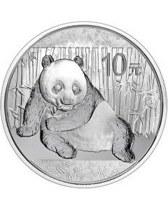 2015 1 oz Chinese Silver Panda Coin BU