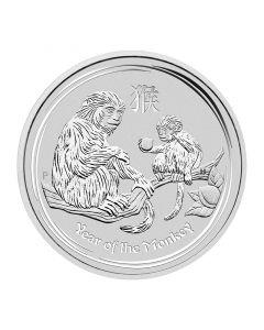 2016 1/2 oz Australian Lunar Series Monkey Silver Coin