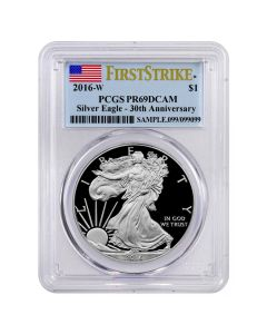 2016-W Silver Eagle Proof - First Strike PR-69 PCGS