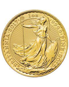2017 1 oz Gold Britannia Gold Coin - 30th Anniversary Privy