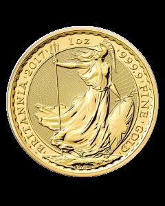 2017 1 oz Britannia Gold Coin - Royal British Mint