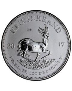 2017 South African Silver Krugerrand Coin 1 oz - Gem Premium Uncirculated