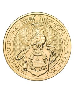 2017 1 oz Queen's Beasts Gold Coin - The Griffin - Royal British Mint