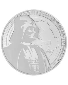 2017 Star Wars Niue Silver Darth Vader Silver Coin