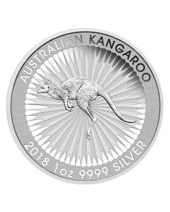 2018 Australian Kangaroo Silver Coin 1 oz
