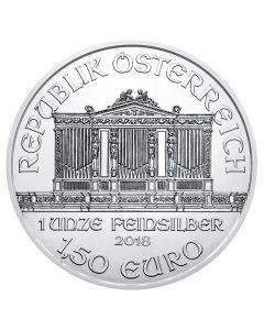 2018 Austrian Silver Philharmonic Coin 1 oz