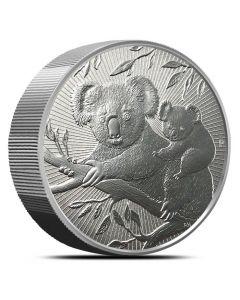 2018 10 oz Perth Mint Piedfort Koala Silver Coin  - Next Generation Series
