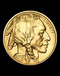 2018 1 oz Gold Buffalo Coin BU