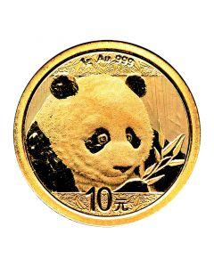 2018 1 Gram Chinese Gold Panda Coin BU