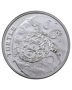 2018 Niue Hawksbill Turtle Silver Coin 1 oz
