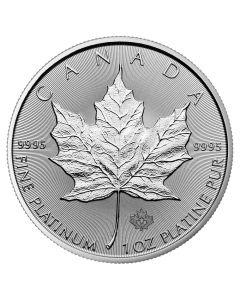 2018 1 oz Canadian Platinum Maple Leaf Coin