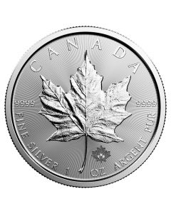 2018 Canadian Silver Maple Leaf Coin BU