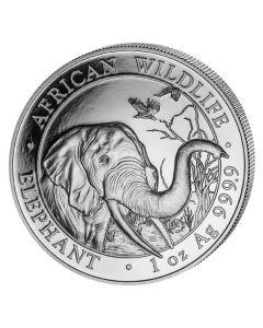2018 Somalian Elephant Silver Coin 1 oz
