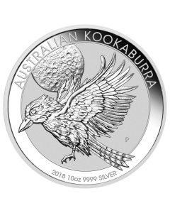 2018 Australian Kookaburra Silver Coin 10 oz