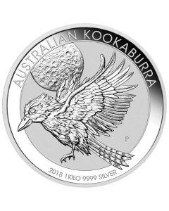 2018 Australian Kookaburra Silver Coin 1 Kilo