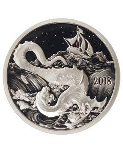 Silverbug Island Leviathan 1 oz Silver Mirror Proof