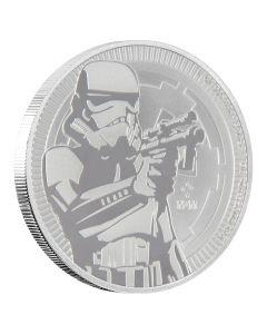 2018 Star Wars Niue Silver Stormtrooper Silver Coin 1 oz