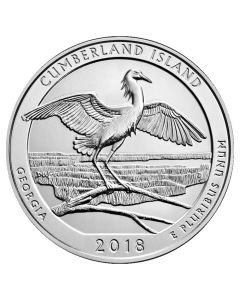 2018 Cumberland Island 5 oz Silver Coin - America The Beautiful