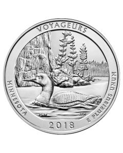 2018 Voyageurs ATB 5 oz Silver - America The Beautiful