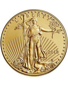 2018 1/2 oz Gold American Eagles BU
