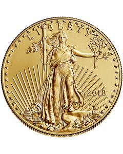 2018 1 oz Gold American Eagle Coin BU