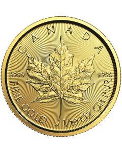 2019 1/10 oz Canadian Gold Maple Leaf Coin BU