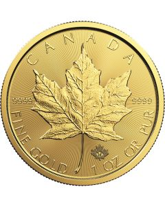 2018 1 oz Canadian Gold Maple Leaf Coin BU