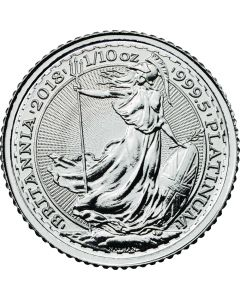 2018 1/10 oz Britannia Platinum Coin