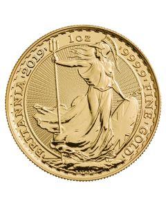 2019 Gold Britannia Coin BU 1 oz