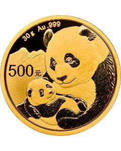 2019 30 Gram Chinese Gold Panda Coin BU