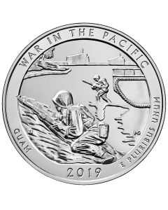 2019 War in the Pacific 5 oz Silver Coin - America The Beautiful