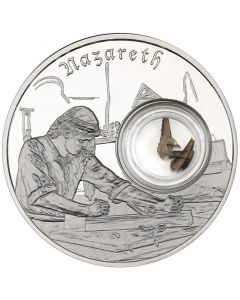 2019 1 oz Footsteps of Jesus of Nazareth Proof Silver Coin