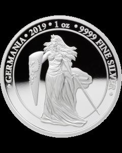 2019 1 oz Germania Proof Silver Coin - 5 Mark