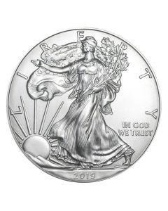 2019 American Silver Eagle Coin BU