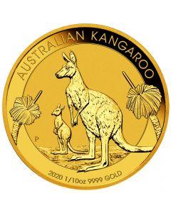 2020 1/10 oz Australian Gold Kangaroo Coin BU