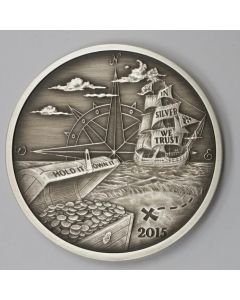 Finding Silverbug Island 1 oz Silver Proof Antiqued Finish - Mintage of 2000