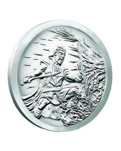 2017 Silver Shield Crucible MiniMintage 1 oz Silver Round