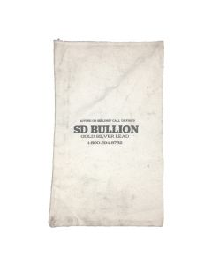 Empty SD Bullion 90% Silver Canvas Bag