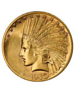 $10 Indian Eagle Gold Coin (VF+) - Random Year