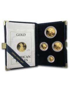 2001 American Gold Eagle Proof Set - Includes Original Mint Box and COA