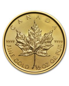 2017 1/2 oz Canadian Gold Maple Leaf Coin