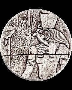 2016 Republic of Chad Horus 2 oz Silver Coin - Egyptian Relic Series