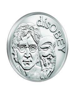 2017 Silver Shield John Lennon MiniMintage 1 oz Silver Round - disOBEY Series