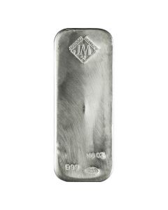 Buy 100 Oz Silver Bars I Lowest Price Guaranteed