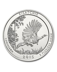 2015 Kisatchie 5 oz Silver Coin - America The Beautiful