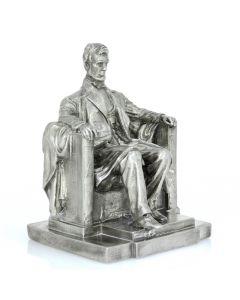 Lincoln Memorial 11 oz Sterling Silver Statue