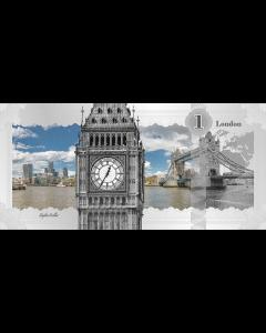2017 Cook Islands 5 Gram Silver Banknote (London Skyline Dollar)