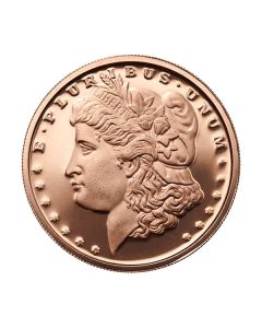 Morgan Dollar 1 oz Copper Round - Osborne Mint