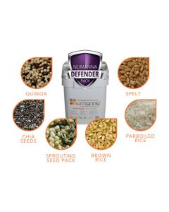 NuManna GMO-Free Defender Nutritive Pack - 204 Servings